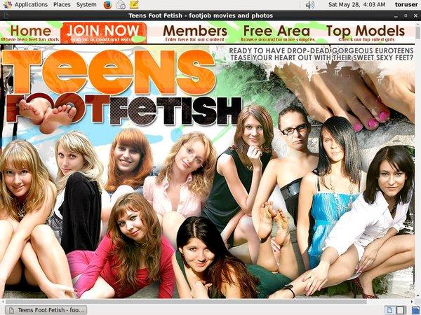 Discount Link Teensfootfetish