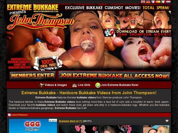 Extreme Bukkake Pay Site