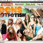 Teens Foot Fetish Membership Discount