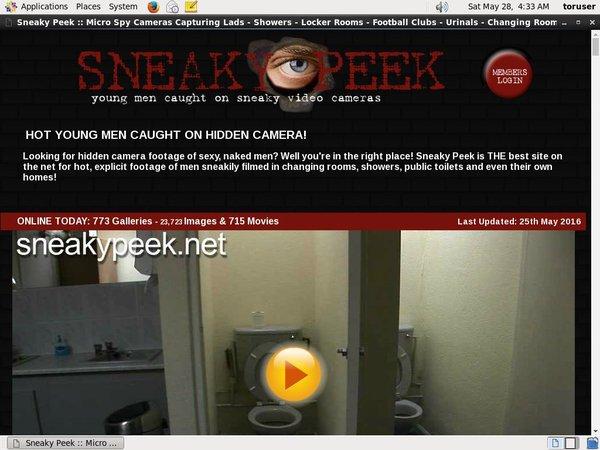 Sneakypeek.net With ECheck